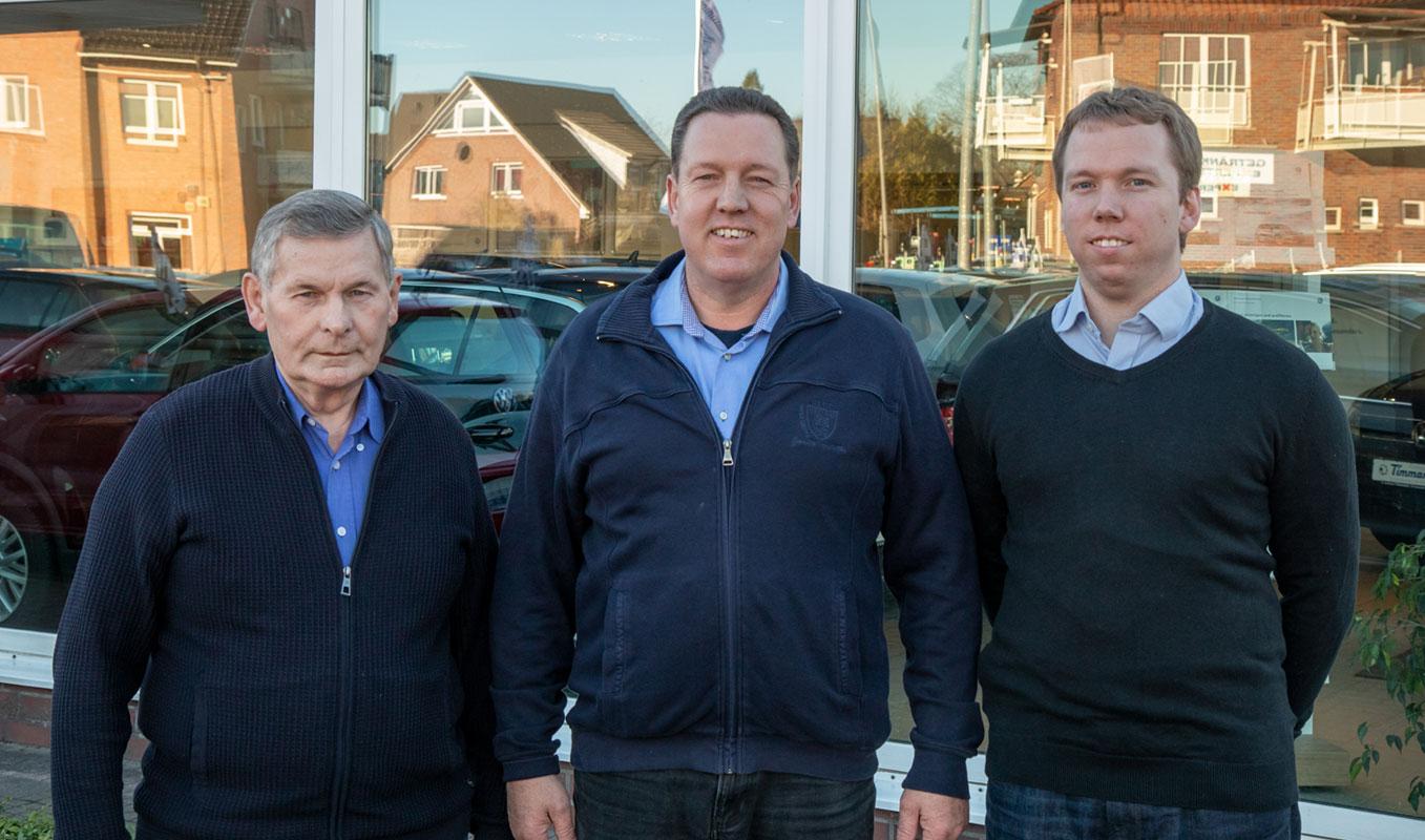 Familie Timmann vom Autohaus Timmann